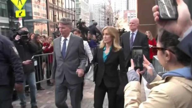 [NATL-NECN] Huffman Expected to Plead Guilty in Boston Court on Monday