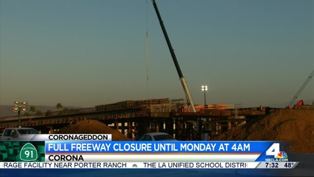 Coronageddon' Continues as 91 Freeway Remains Closed in