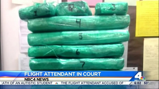 [LA] Flight Attendant Who Allegedly Left Cocaine at LAX Due in Court