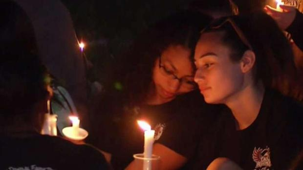 [NATL-MI] Parkland Holds Vigil for Victims in High School Shooting