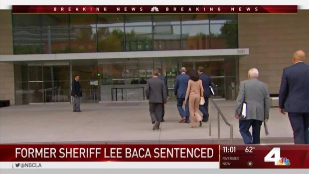 [LA] Former Sheriff Baca Sentenced to Prison