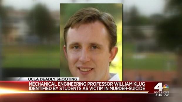 [LA] Friends in Shock After Professors Murder
