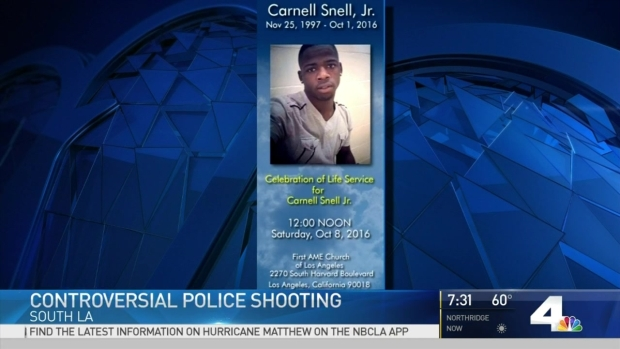 [LA] Funeral Services Planned for Man Fatally Shot by Police