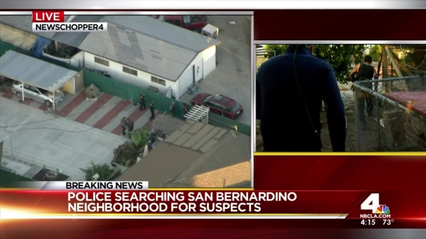 Man Describes Ducking for Cover in San Bernardino Police Shootout