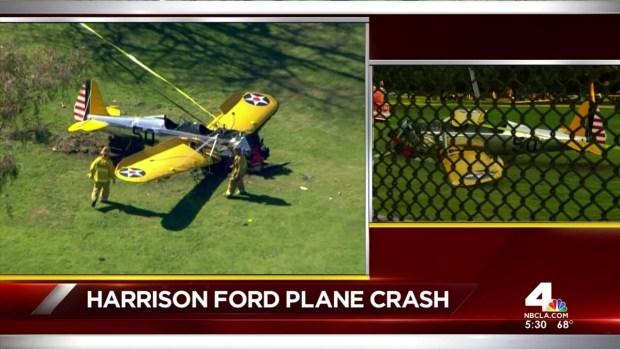 [LA] Harrison Ford's Plane Crash Lands on Golf Course