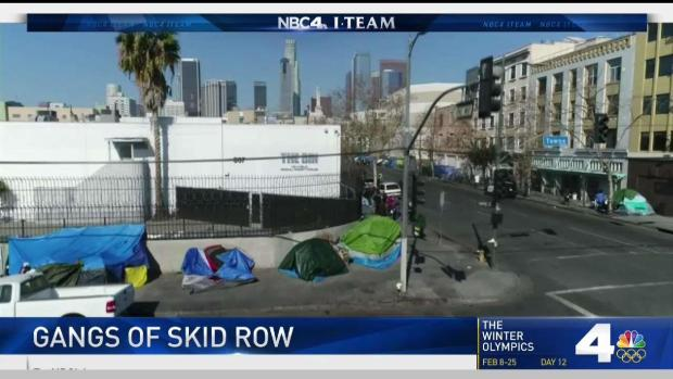 [LA] Gangs Preying on Homeless on Skid Row