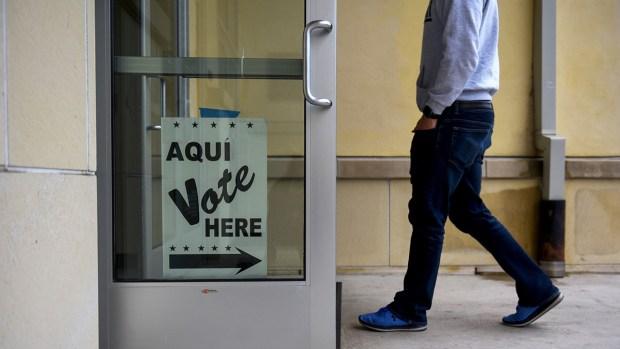 Top News Photos: Texas Voting, Honduran Migrants, and More