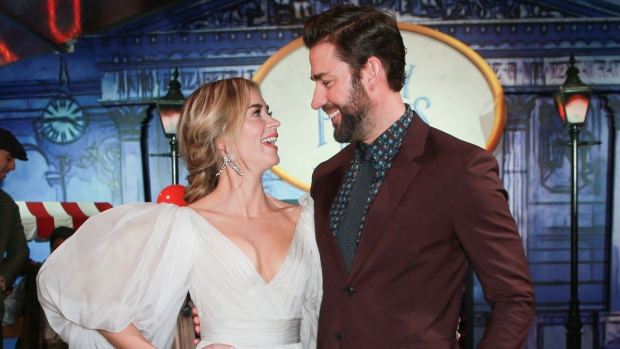 'Mary Poppins Returns' With an Umbrella, and a Magical Hollywood Premiere
