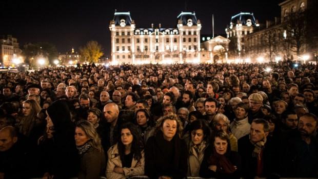 [NATL] PHOTOS: Terror Attacks Leave Paris Shellshocked