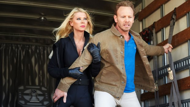 "[NATL] Ian Ziering Dishes on ""Sharknado: The 4th Awakens"""