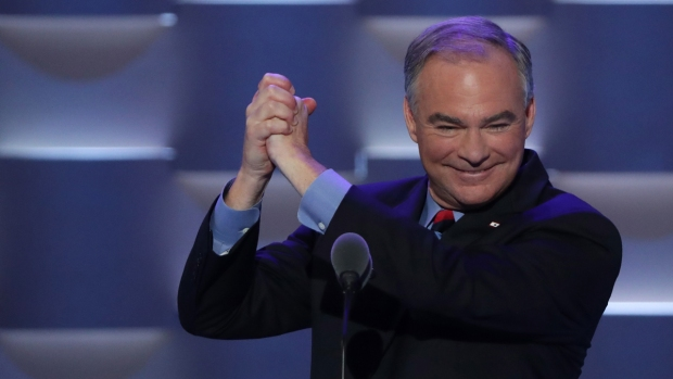 Tim Kaine Mocks Donald Trump's Common Phrase: 'Believe Me'