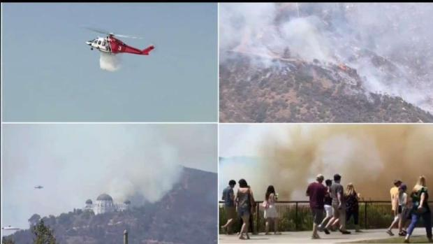 [LA] Griffith Park Fire Forces Evacuations