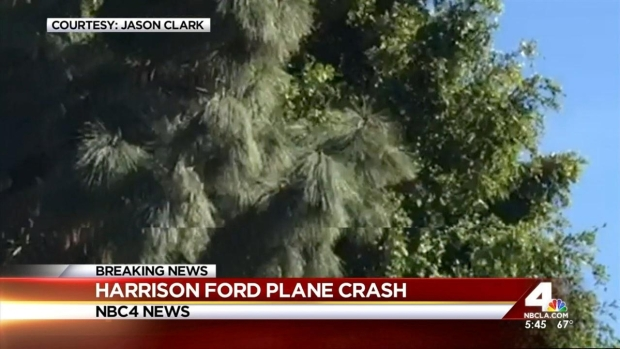[LA] Witnesses Saw Ford's Plane Clip Tree Before Crash Landing