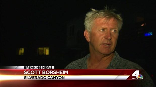 [LA] Personnel to Double to Fight Silverado Fire