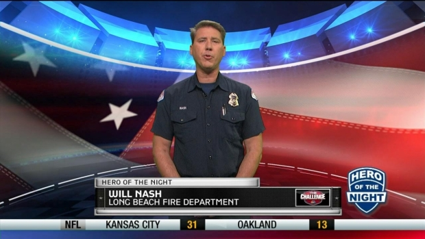 Challenge Hero: Firefighter Will Nash