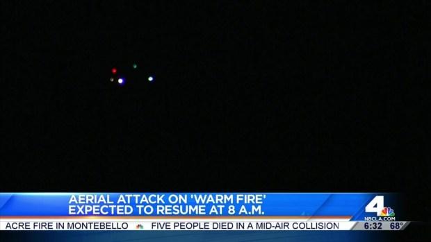 [LA] Heat Concern for 'Warm Fire' Crews
