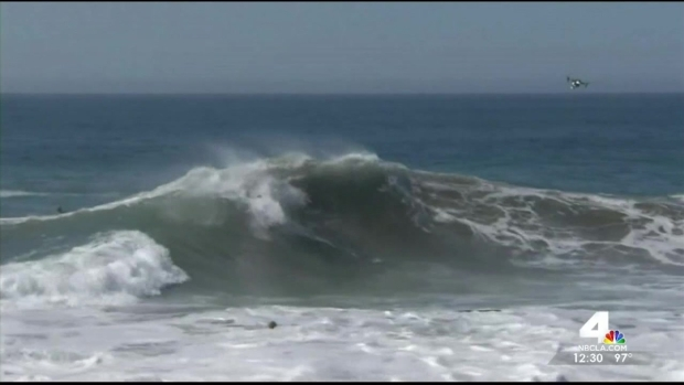 High Surf Pounds LA County Coasts