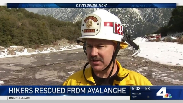 [LA] Hikers Injured After Snow Gives Way