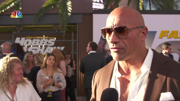 [LA] 'Hobbs and Shaw' Premiere Hits Hollywood