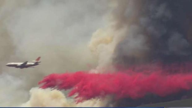 [LA] 4,000-Acre Holy Fire Continues to Burn Out of Control