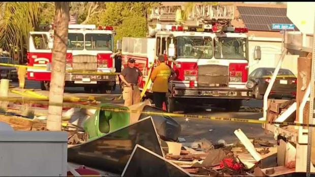 [LA] Home Reduced to Rubble in Deadly Explosion in Murrieta