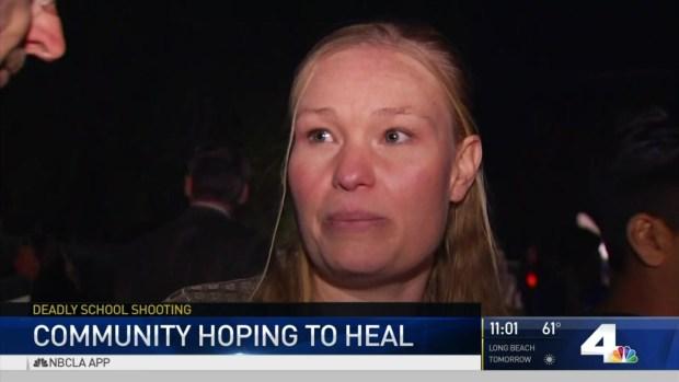 [LA] Hope, Healing at North Park Candlelight Vigil