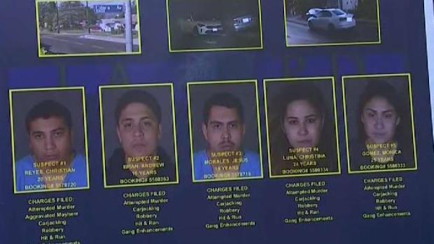 How Investigators Identified 5 Suspect in Sunland Stabbing