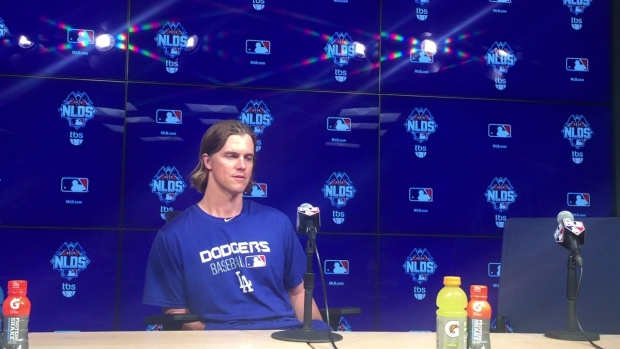 Zack Greinke Dodgers Press Conference Dodgers Rally From Beh...