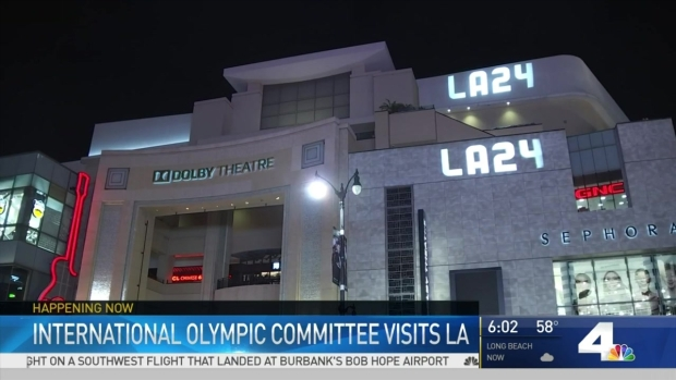 [LA] IOC Members Visit LA to Inspect Possible Venues