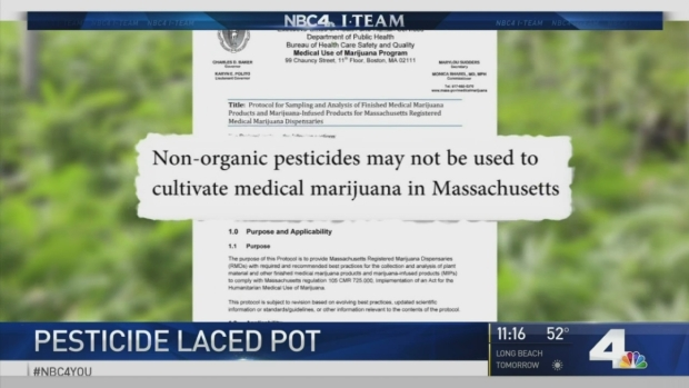[LA] I-Team Uncovers Pesticide-Laced Marijuana