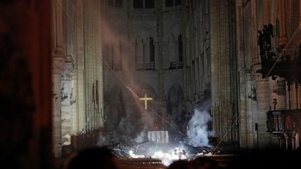 Photos: Inside Notre Dame After Devastating Fire