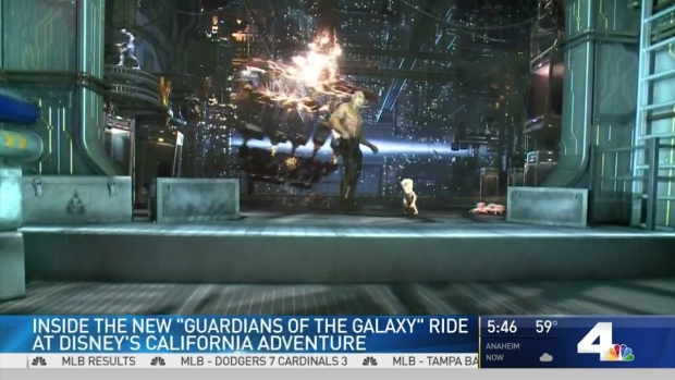 [LA] Inside 'Guardians of the Galaxy' Ride