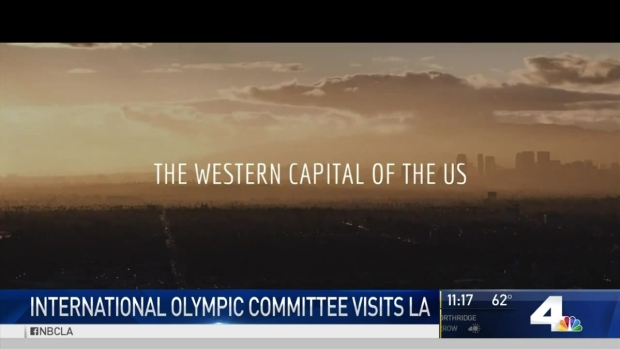 [LA] International Olympic Committee Visits LA