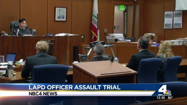 [LA] Ex-LAPD Officer Accused of Assault Doesn't Take Stand in Trial