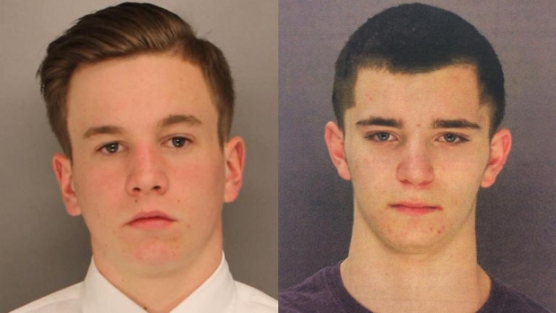 Two men charged with killing four in Pennsylvania
