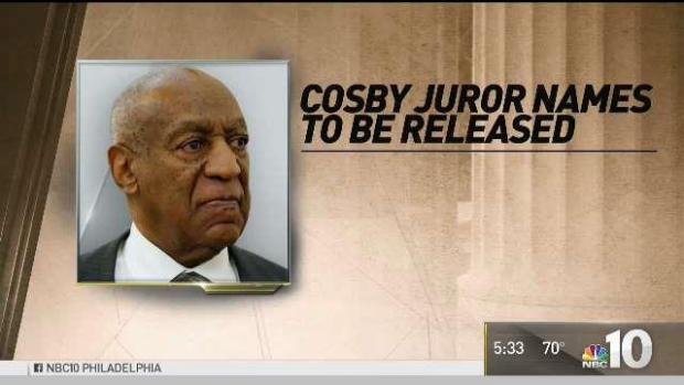 [PHI] Judge to Release Names of Cosby Jurors