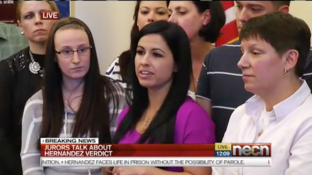 Jury Speaks After Aaron Hernandez Sentencing
