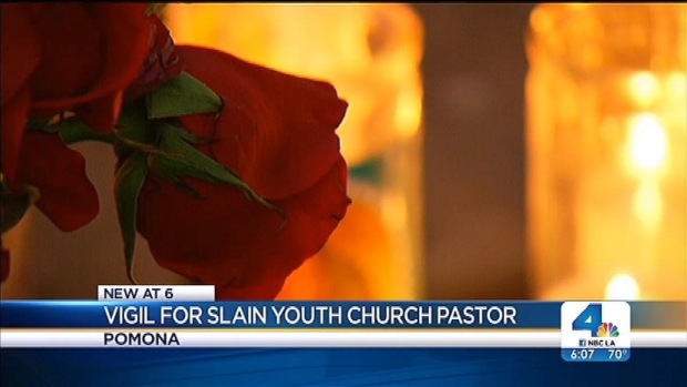 [LA] Slain Youth Church Pastor Remembered at Vigil