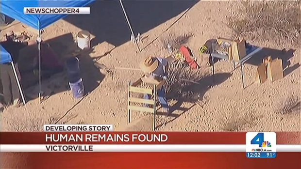 [LA] Human Skeletal Remains Found in High Desert
