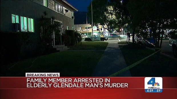 [LA] Family Member Arrested in Glendale Grandfather's Slaying