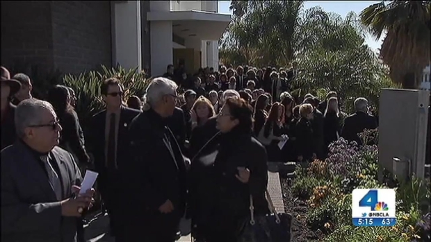 [LA] Thousands Mourn SoCal Lawmaker's Slain Father