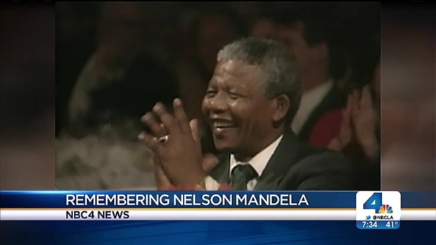 [LA] Thousands Expected at LA Memorial Service for Nelson Mandela