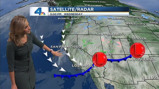 [LA] AM Forecast: Winter Showers