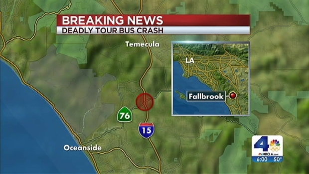 [LA] Recovery Begins After Two Bus Crashes on 15 Freeway