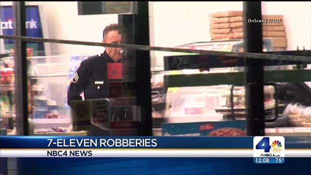 [LA] Clerk Killed, 2 7-Eleven Robbed in Northeast LA
