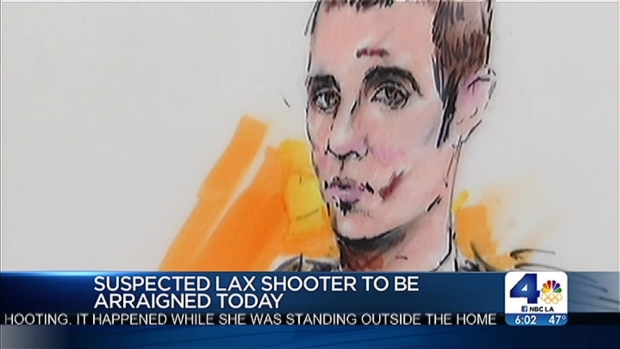 [LA] LAX Shooting Suspect to Plead in Court
