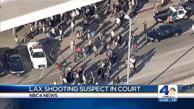 [LA] LAX Shooting Suspect Pleads Not Guilty