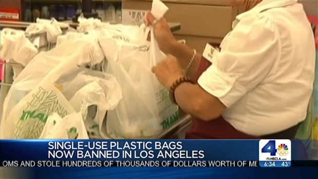 [LA] Plastic Bag Ban Begins in LA