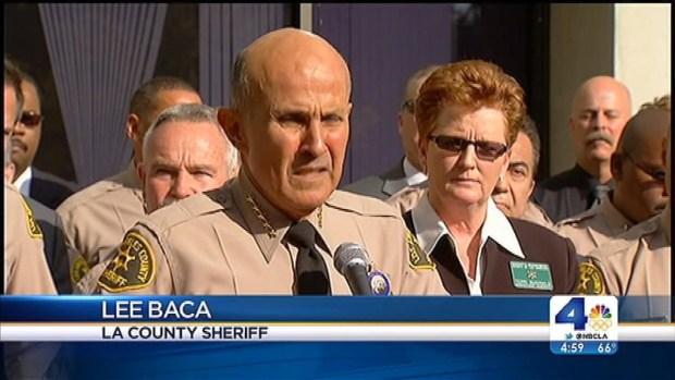 [LA] Sheriff Lee Baca Announces Plans To Retire