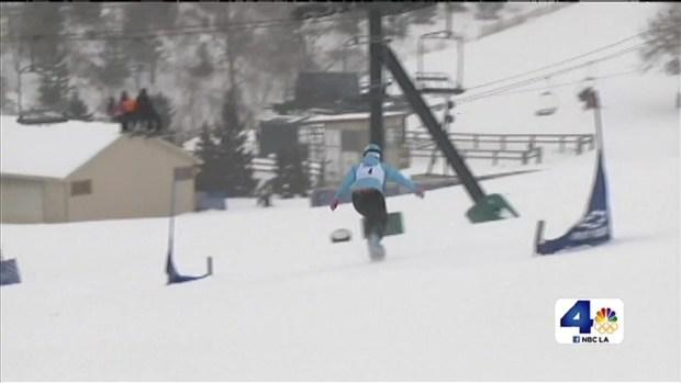 [LA] U.S. Olympic Team Prepares in Case of Attack